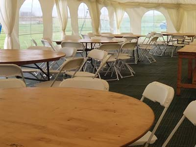 Marquee Tables & Chairs - Gallery Image 2