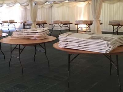 Marquee Tables & Chairs - Gallery Image 3