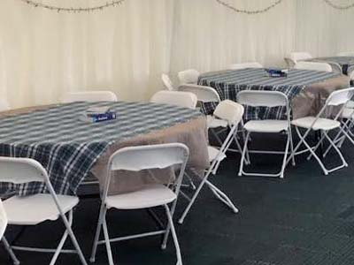 Marquee Tables & Chairs - Gallery Image 9